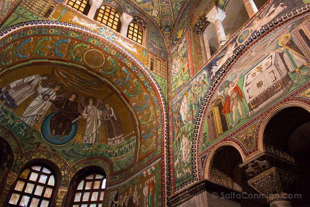 Italia Ravenna Mosaico San Vital