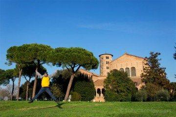 Italia Ravenna San Apolinar Classe Salto