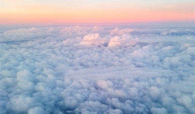 Mar Nubes Avion