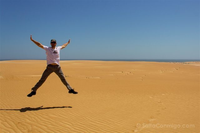 Oman Desierto Ghalat Salto