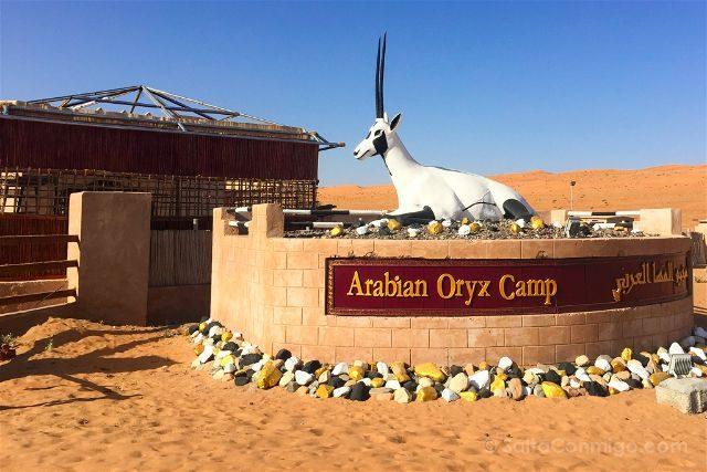 Oman Desierto Wahiba Sands Ramlat Oryx Camp