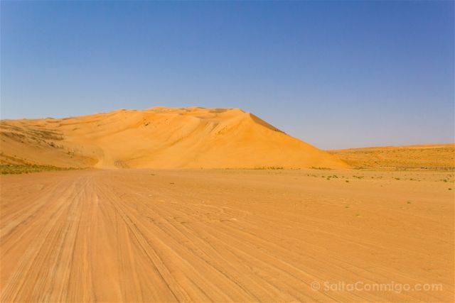 Oman Desierto Wahiba Sands Ramlat Rodadas