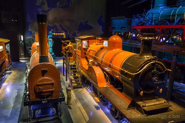 Belgica Bruselas Museos Trainworld Locomotoras