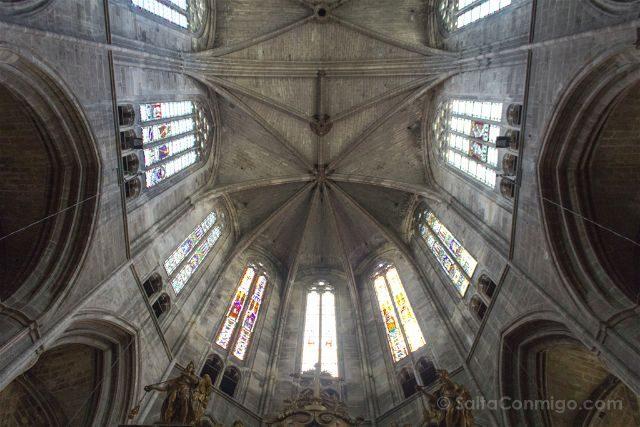 Que ver en Narbona Catedral Techo
