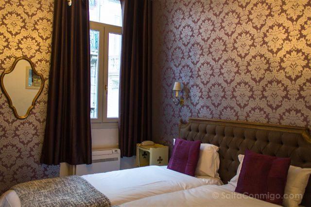 Francia Pais Cataro Narbona Hotel La Residence Habitacion