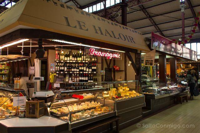 Que ver en Narbona Mercado Les Halles Interior