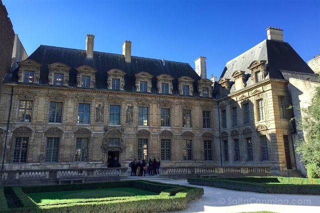 Francia Paris Monumentos Nacionales Palacio Sully