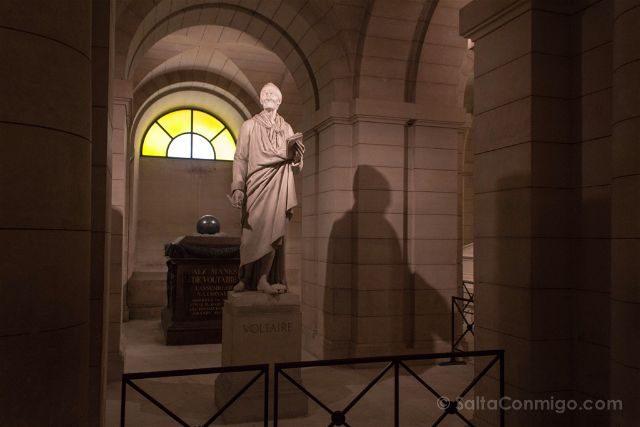 Visitas En Paris Monumentos Nacionales Pantheon Voltaire