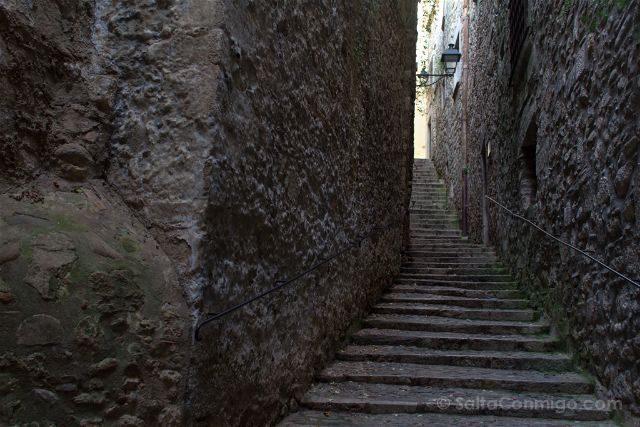 Girona Call Barrio Judio Pujada Catedral