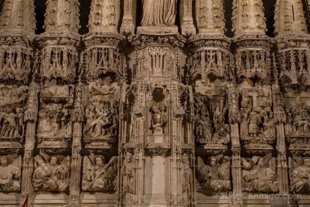 Girona Catedral Emporda Castello Empuries Retablo Inferior