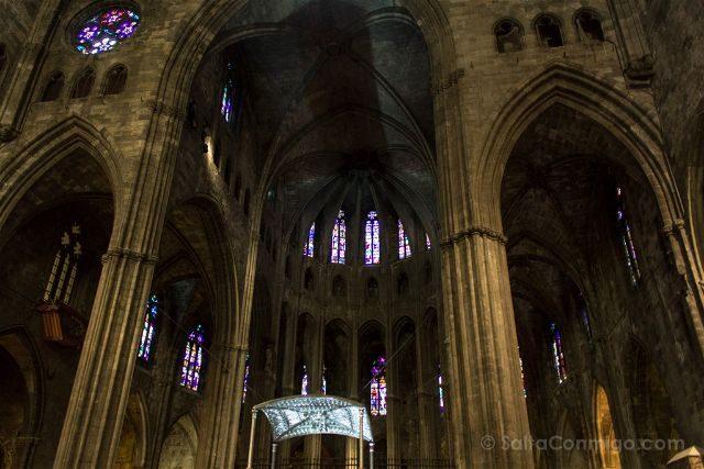Girona Catedral Interior