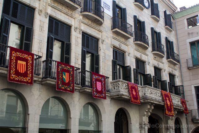 Girona Fachada Ayuntamiento