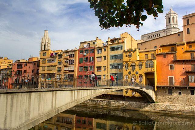 Girona Pont Princesa Gomez Rio Onyar