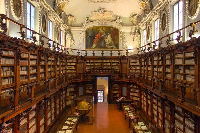 Italia Emilia Romagna Ravena Biblioteca Classense Aula Magna