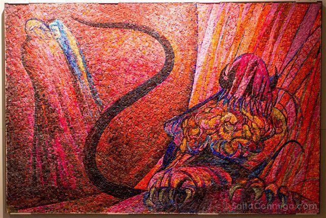 Italia Emilia Romagna Ravena Museo TAMO Inferno Dante