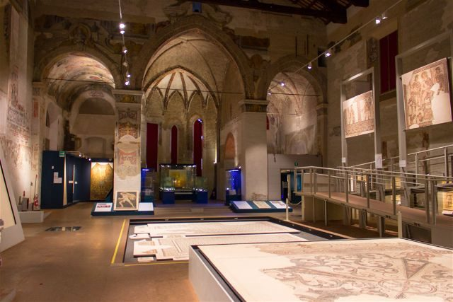 Italia Emilia Romagna Ravena Museo TAMO