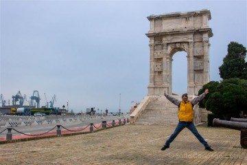 Italia Marcas Ancona Arco Trajano Salto