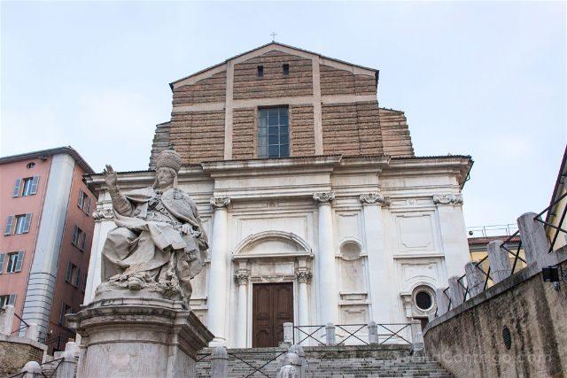 Italia Marcas Ancona Iglesia San Domenico Fachada
