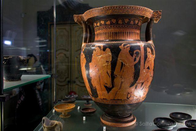 Italia Marcas Ancona Museo Arqueologico Anfora Atica