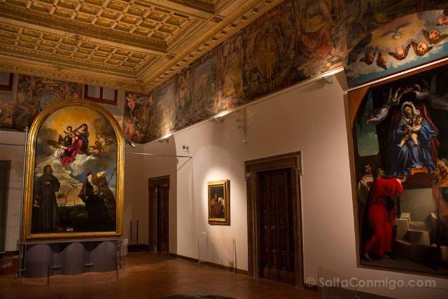 Italia Marcas Ancona Pinacoteca