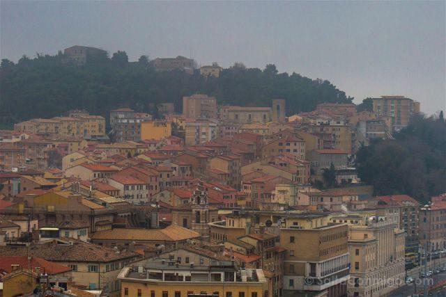 Italia Marcas Ancona Vista Panoramica
