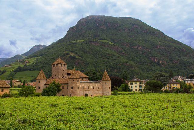 Italia Sudtirol Tirol Del Sur Bolzano Castel Mareccio Schloss Maretsch Vides
