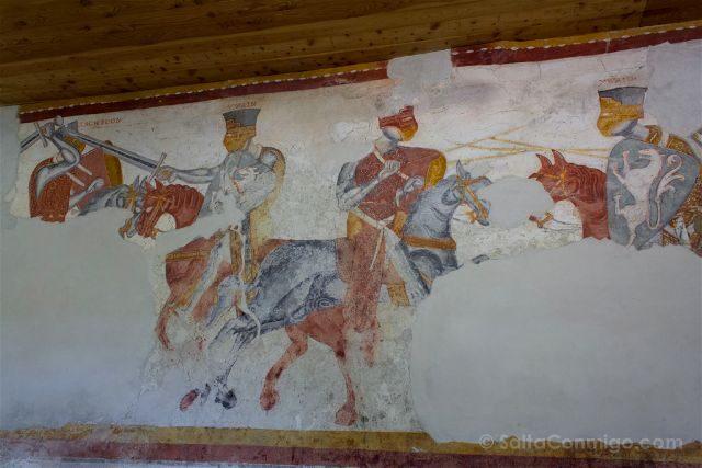 Italia Sudtirol Tirol Del Sur Bolzano Castel Rodengo Schloss Rodenegg Frescos