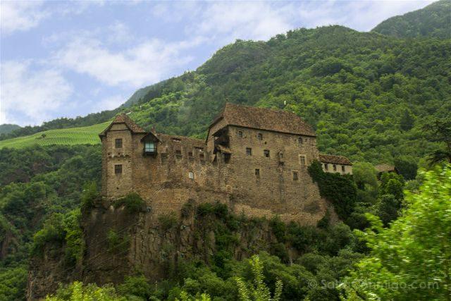 Italia Sudtirol Tirol Del Sur Bolzano Castel Roncolo Schloss Runkelstein Exterior