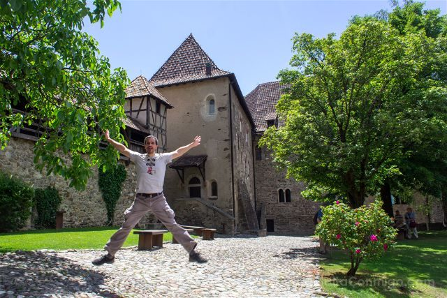 Italia Sudtirol Tirol Del Sur Bolzano Castel Tirolo Schloss Tirol Saltando