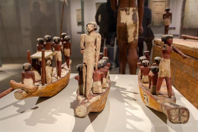 Italia Turin Museo Egipcio Barcos