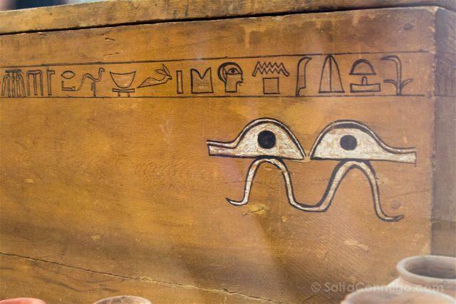 Italia Turin Museo Egipcio Ojos Tumba Ini