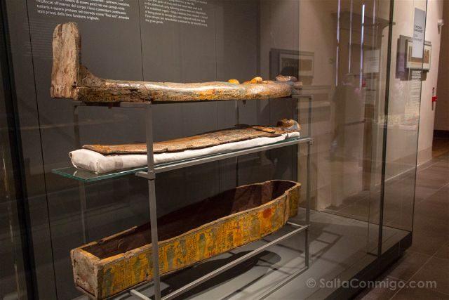 Italia Turin Museo Egipcio Sarcofago Butehamon