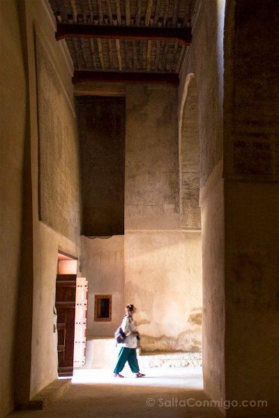Oman Fuerte Bahla Fort Entrada Vertical