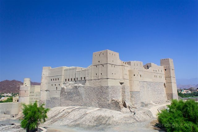 Oman Fuerte Bahla Fort Exterior