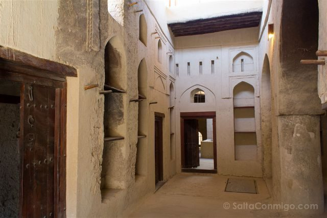 Oman Fuerte Bahla Fort Sala Interior