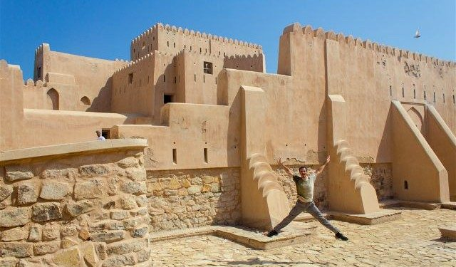 Oman Fuerte Barka Fort Patio Salto