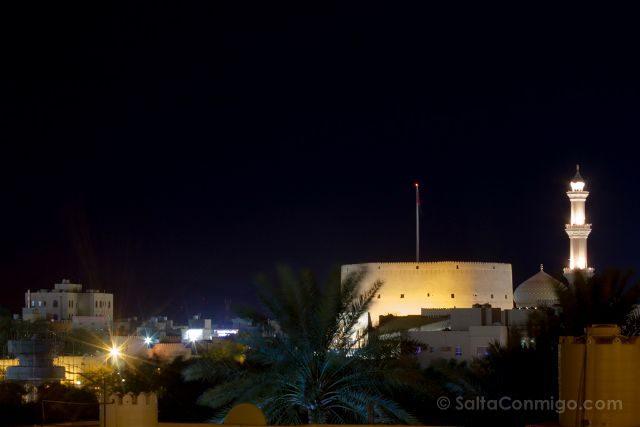 Oman Fuerte Nizwa Fort Vista Panorama