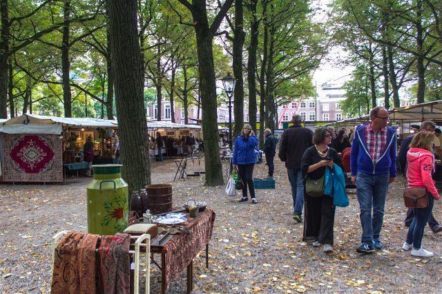 Paises Bajos Holanda La Haya Bulevar Lange Voorhout Paseo
