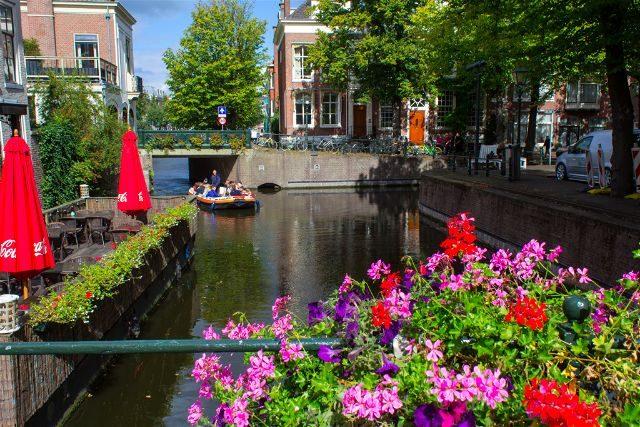 Paises Bajos Holanda La Haya Canales