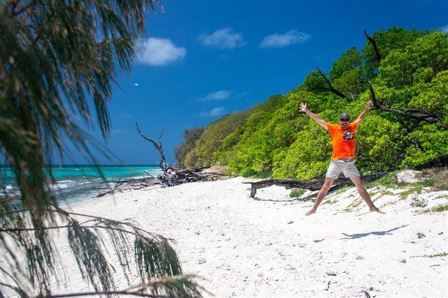 Asutralia Lady Musgrave Island Isla Playa Salto