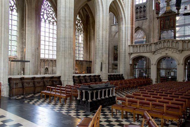 Flandes Lovaina Iglesia San Pedro Coro