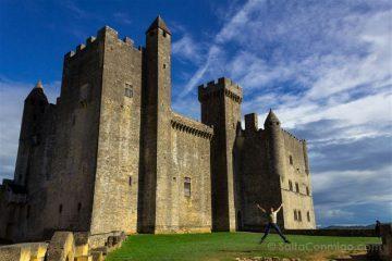 Francia Aquitania Beynac Castillo Exterior Salto