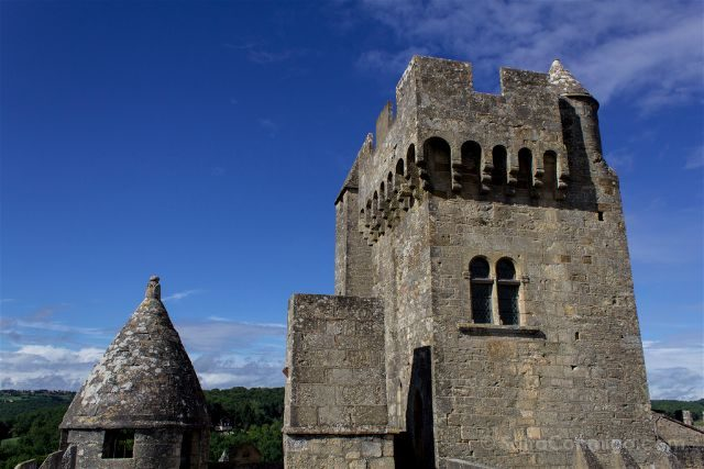 Francia Aquitania Beynac Castillo Torre