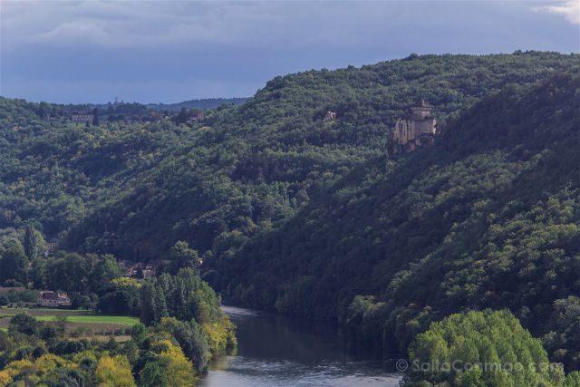Francia Aquitania Beynac Castillo Vista Castelnaud