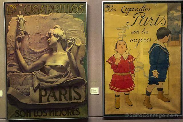 Girona Garrotxa Olot Museo Garrotxa Cigarrillos Paris Carteles