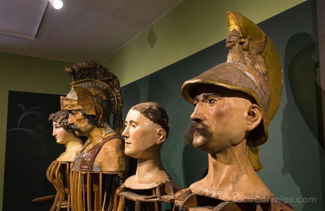 Girona Garrotxa Olot Museo Santos Gigantes