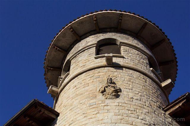 Girona Garrotxa Olot Torre Casa Pujador Cristo