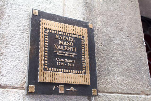 Girona Ruta Maso Marca Placa