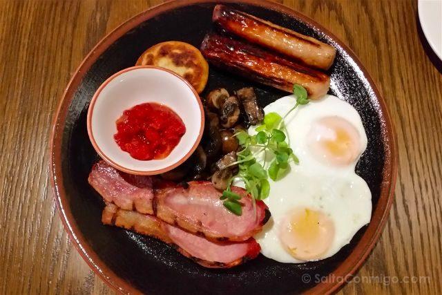 Irlanda Del Norte Derry Londonderry Bishop Gate Hotel Desayuno