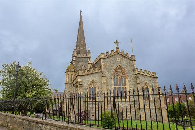 Irlanda Del Norte Derry Londonderry Catedral San Columbano